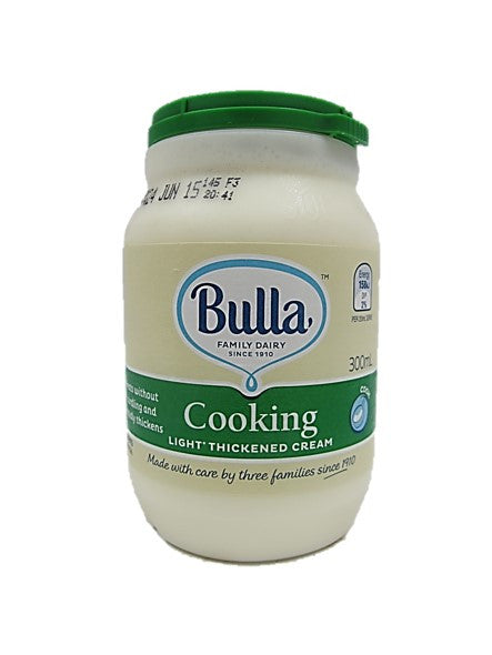 Bulla Cooking Light Thickened Cream 300ml
