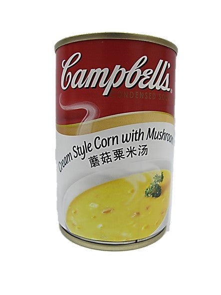 Campbell's Cream Style Corn With Mushroom 305g