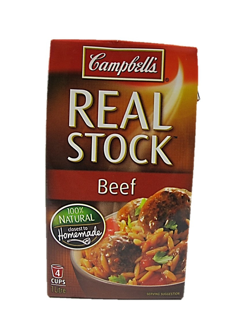 Campbell Beef Real Stock 1L