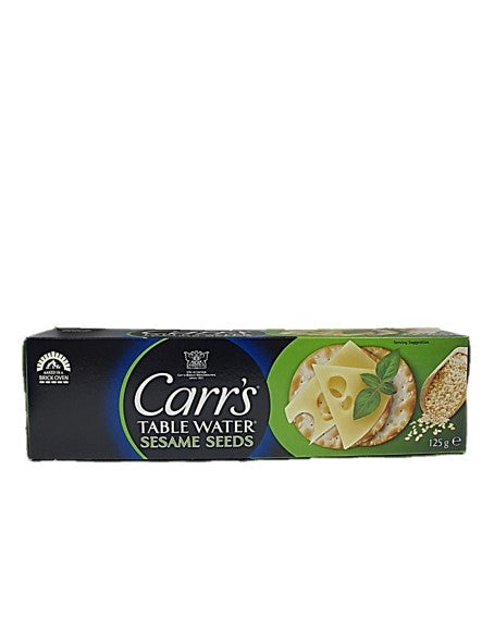 Carr's Table Water Sesame Seeds Crackers 125g