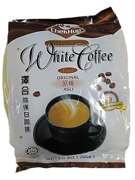 ChekHup Ipoh White Coffee 3in1 Original 15 Satchels