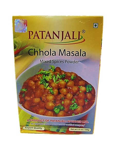 Patanjali Chhola Masala Mixed Spices Powder 100g