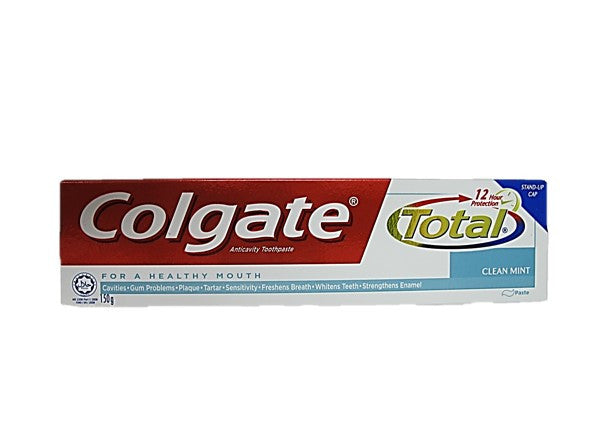 Colgate Total Anticavity Toothpaste Clean Mint 150g