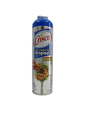 Crisco 100% Canola Oil Original No Stick Spray