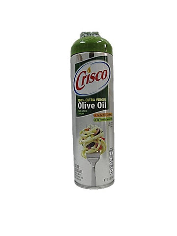 Crisco 100% Extra Virgin Olive Oil No-Stick Spray 141g