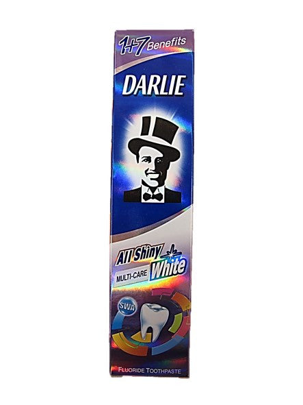 Darlie All Shiny Multi-Care White 1+7 Benefits Fluoride Toothpaste 140g