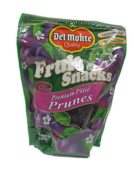 Del Monte Fruit Snacks Premium Pitted Prunes 283g