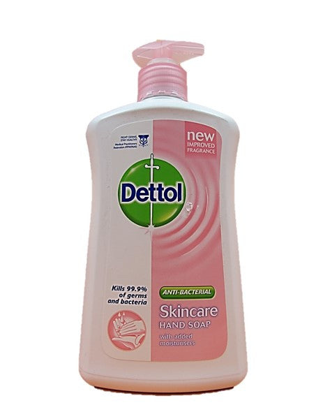 Dettol Anti-Bacterial Fresh Hand Soap New Improved Fragrance 500ml