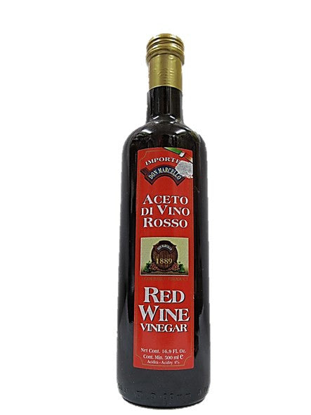 Don Marcello Aceto Di Vino Rosso Red Wine Vinegar 500ml