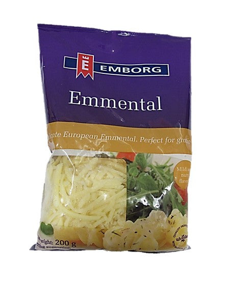 Emborg Shredded Emmmental Cheese 200g