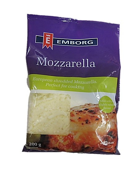 Emborg European Shredded Mozzarella 200g
