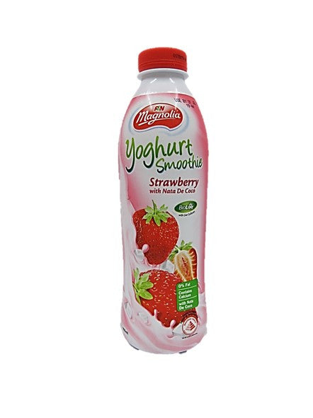 Magnolia Yoghurt Smoothie Strawberry with Nata De Coco 800ml