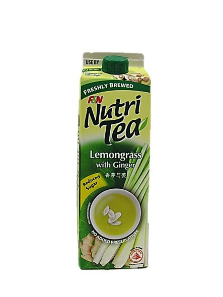 Nutri Tea Lemongrass with Ginger Reduced Sugar 1L