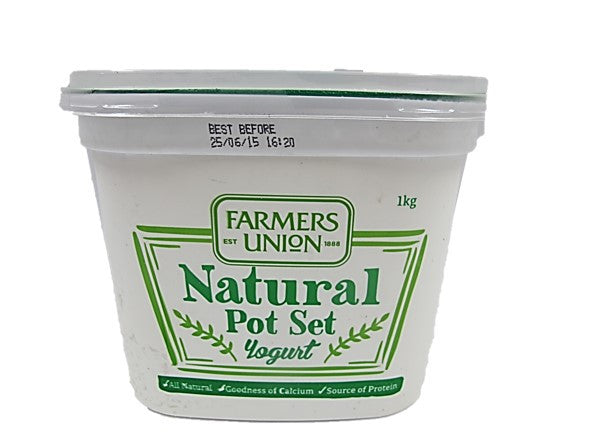 Farmers Union Natural Pot Set Yogurt