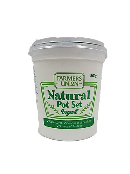 Farmers Union Natural Pot Set Yogurt 500ml