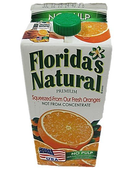 Florida's Natural Premium Fresh Oranges No Pulp Fruit Juice 1.5L