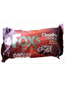 Fox's Chunkie Cookies Extremely Chocolatey 180g