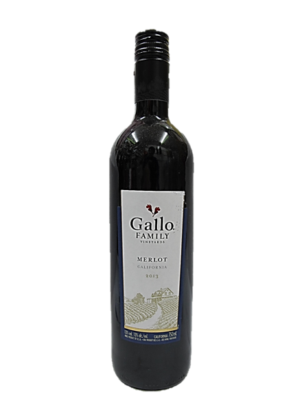 Gallo Family Vineyards Merlot California Red Wine 2013 750ml