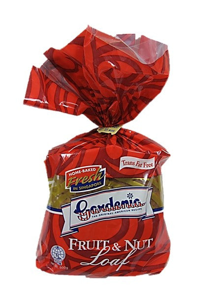 Gardenia Trans Fat Free Fruit & Nut Loaf Bread 500g