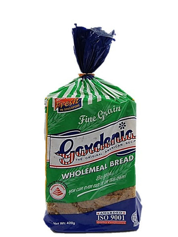 Gardenia Fine Grain Wholemeal Bread 420g