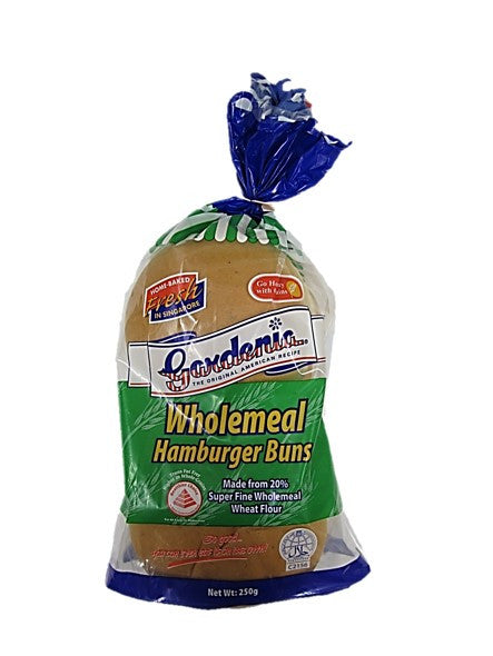 Gardenia Wholemeal Hamburger Buns 250g
