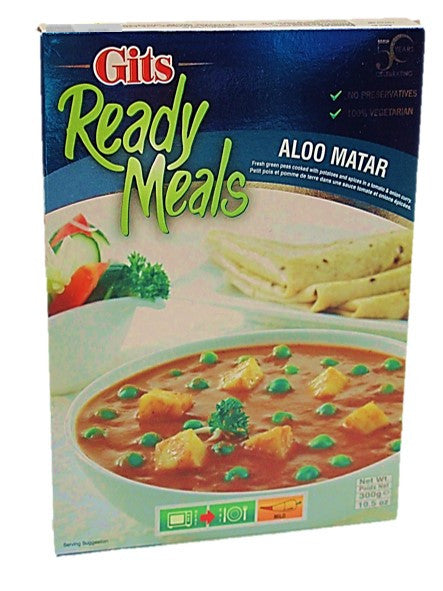 Gits Ready Meals Aloo Matar 300g