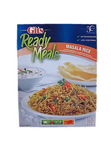Gits Ready Meals Masala Rice 265g