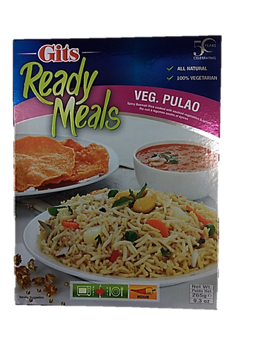 Gits Ready Meals Veg Pulao 265g