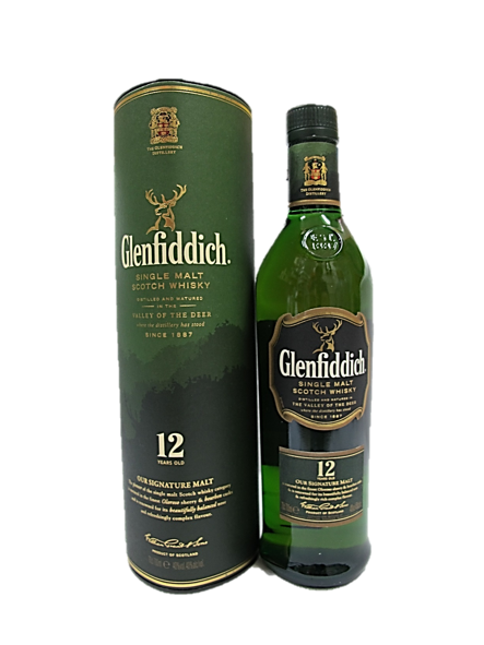 Glendfiddich Single Malt Scotch Whisky 12 Years 700ml