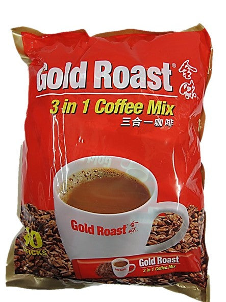 Gold Roast 3in1 Coffee Mix 40 Sticks