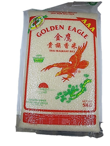 Golden Eagle AAA Thai Fragrant Rice Vacuum Packed 5kg
