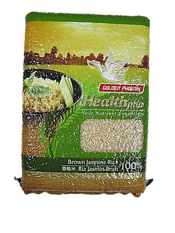 Golden Pheonix Healthplus Your Nutrient Essentials Brown Jasmine Rice 100% 1kg