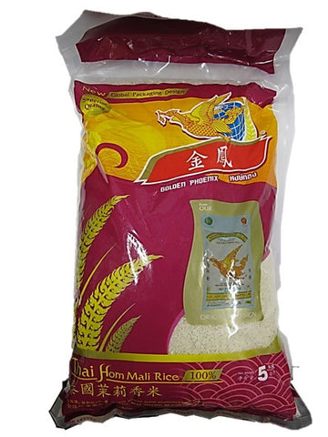 Golden Phoenix Thai Hom Mali Rice 5kg
