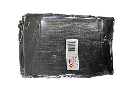 Grace Disposable Black Garbage Bags (34inch x 30inch) 10 Pieces Pack