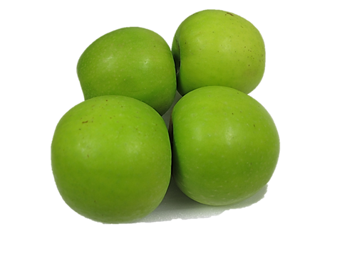 Green Granny Smith Apple 4 Pieces