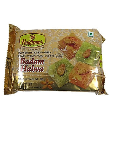Haldiram's Badam Halwa Indian Sweets 200g