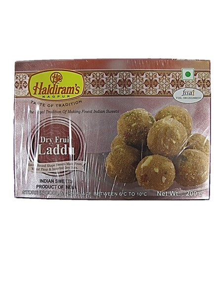 Haldiram's Dry Fruit Laddu Indian Sweets 200g