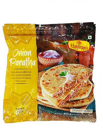 Haldiram Onion Paratha 5 Pieces 400g