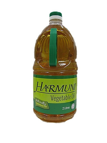 Harmuni Vegetable Oil Naturally Cholesterol Free 2L