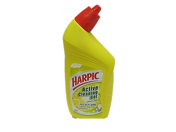 Harpic Toilet Cleaner Active Cleaning Gel 500ml Martkplace