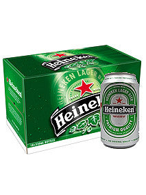 Heineken Beer 330ml x 24 Cans Carton