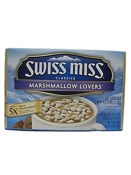 Swiss Miss Classics Hot Cocoa Mix with Marshmallows 6 Servings
