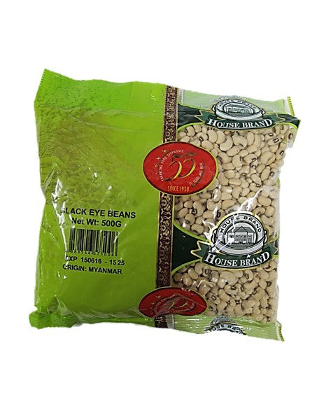 House Brand Black Eye Beans 500g