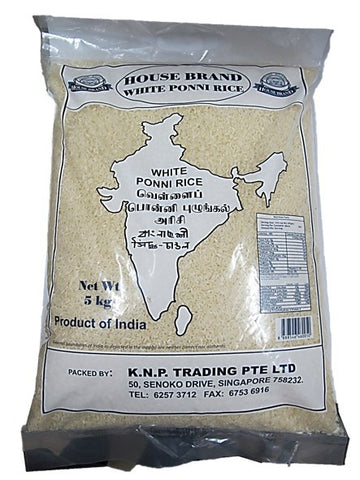 House Brand Iddly Ponni Rice 5kg