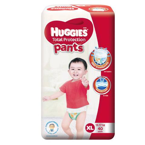 Huggies Total Protection Pants Large (12-17kg) 40 Pants
