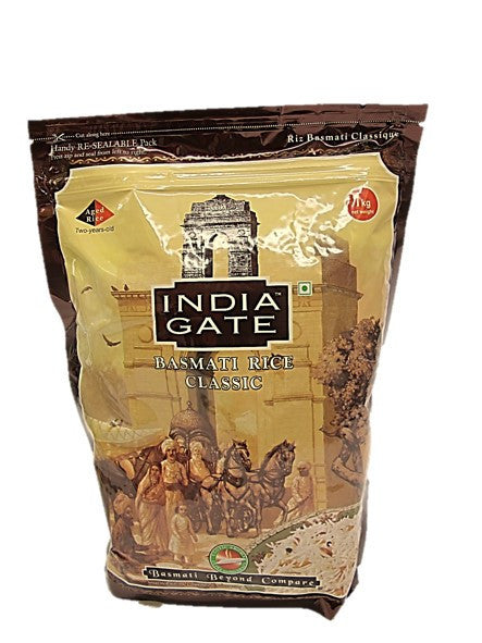 India Gate Basmati Rice Classic 1kg