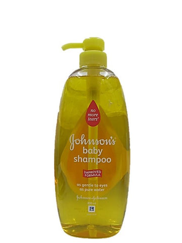 Johnson's Baby Shampoo Improved Formula As Gentle to Eyes as Pure Water 800ml