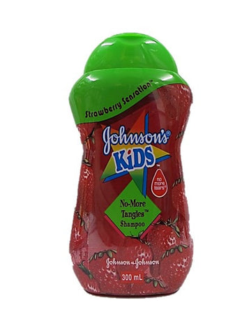 Johnson's Kids Strawberry Sensation No-More Tangles Shampoo 300ml