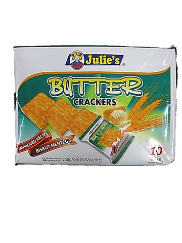 Julie's Butter Crackers (10 Sachets) 250g