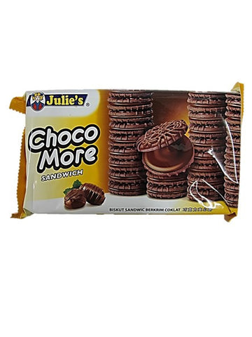 Julie's Choco More Sandwich Biscuits 160g